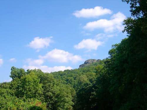Humpback Rocks from the Blue...
