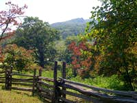 Humpback Rocks from the...