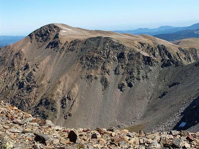 West Face of James Peak