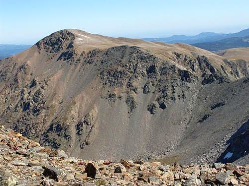 West Face of James Peak
