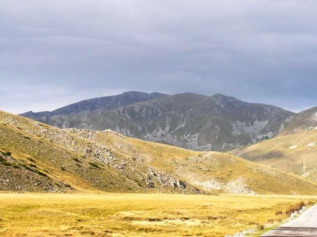 Medenica, peak from the road...