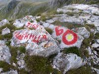 Medenica peak the markation -...