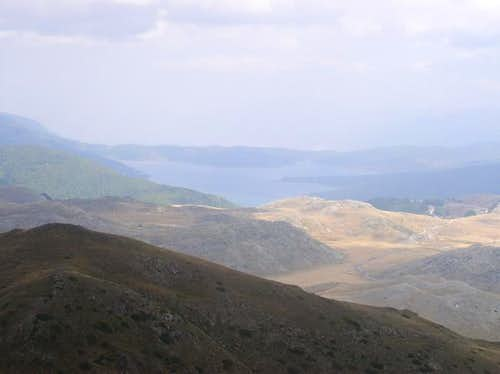 Mavrovo Lake view from...