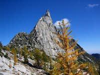 Looking back at Prusik Peak...