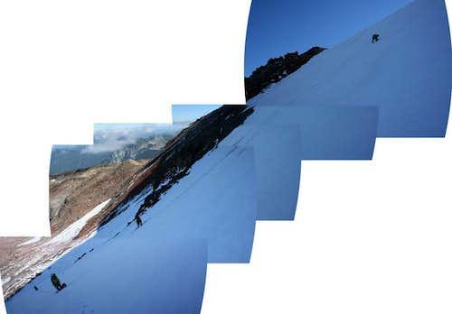 diagonal panorama taken...