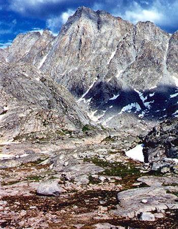 Ellingwood Peak above Indian...