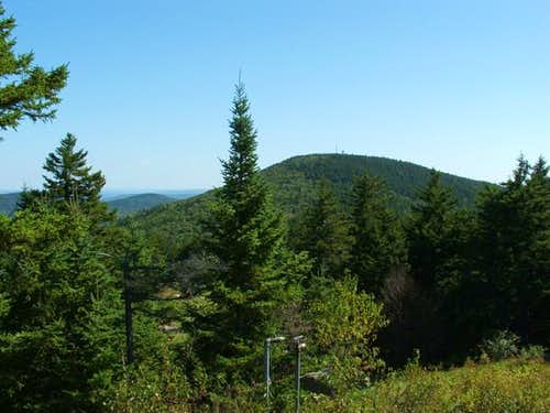 Shot of Belknap Mountain from...