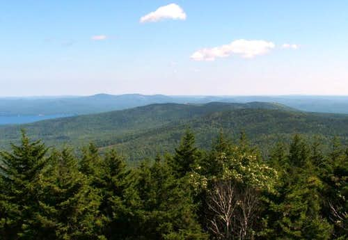 From the Belknap Mountain...