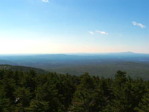 View from Belknap Mountain...