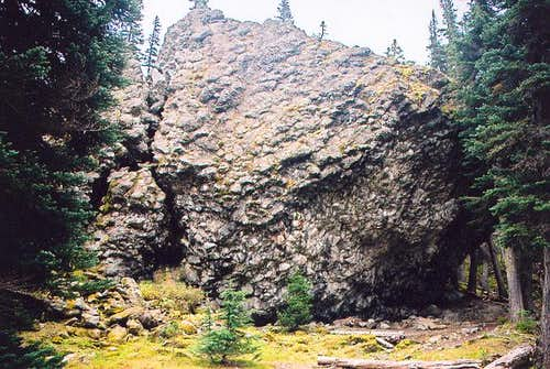 Shelter Rock in Royal Basin....