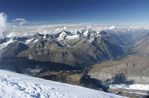 View of breithorn. You can...