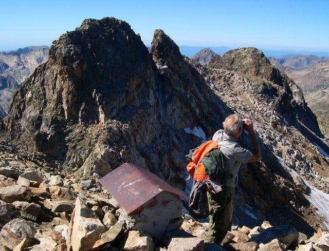 Central summit of M. Matto...