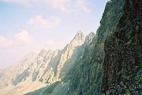Slavkovsky stit (2452,4m) on...