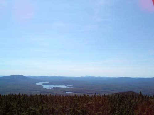 Grote Pond from Stratton Mt -...