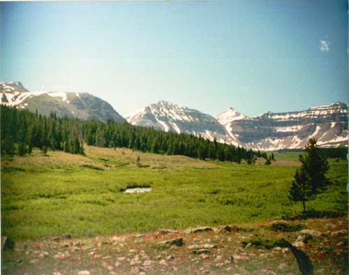 Left to right: Gilbert Peak,...