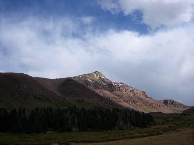 Gunsight Peak, probably from...