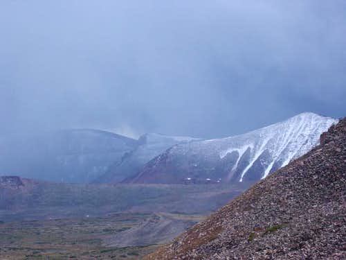 Mt. Emmons, 13086, 13287 in...