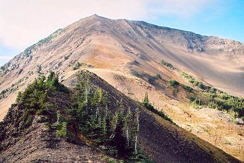 Gray Wolf Ridge's highest...