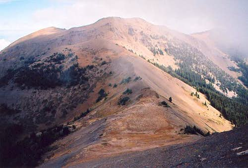 Baldy (6,827 ft) from the...