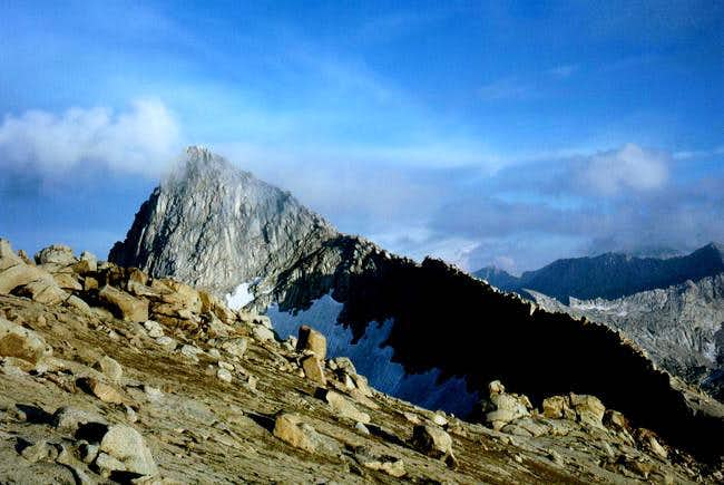 Sawtooth Peak as viewed form...