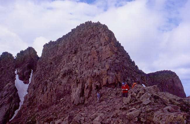 Eolus' northeast ridge from...
