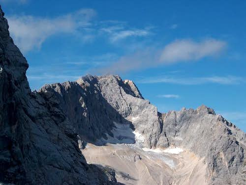 Zugspitze and the Höllental...