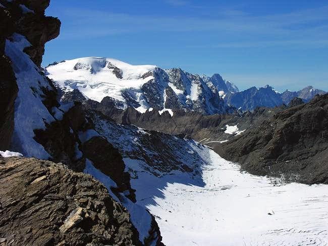 Mont Velan (3.734m) view...