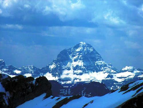Mount Assiniboine fromt the...