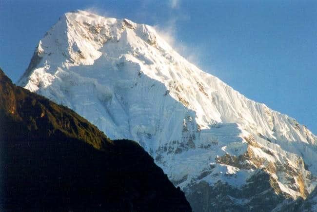 Annapurna South (7195m) seen...