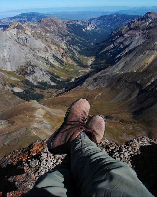 Hanging out on Uncompahgre...