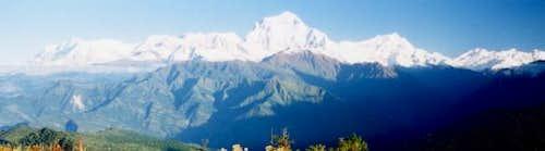 The impressive Dhaulagiri...