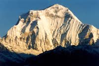 Dhaulagiri south face after...