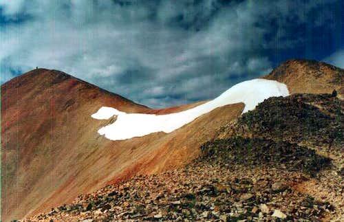 Summit Ridge Redcloud Peak...