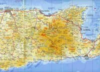 The central-east part of Crete