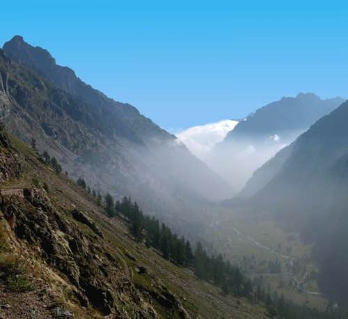 Monte Matto (on the left)...