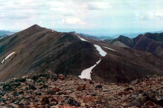 Redcloud Peak as seen from...