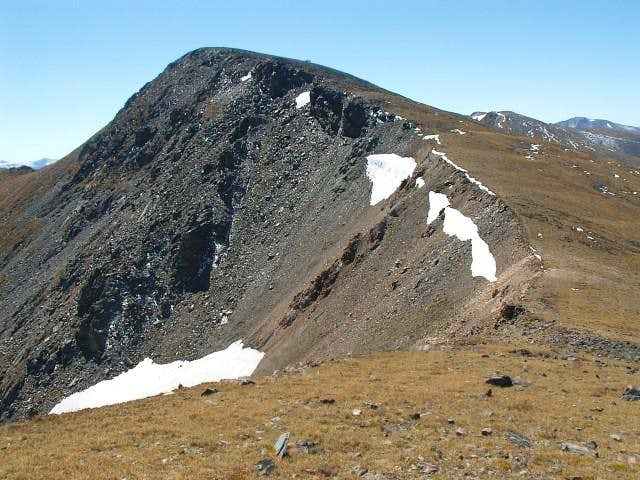 Mount Eva east face and north...