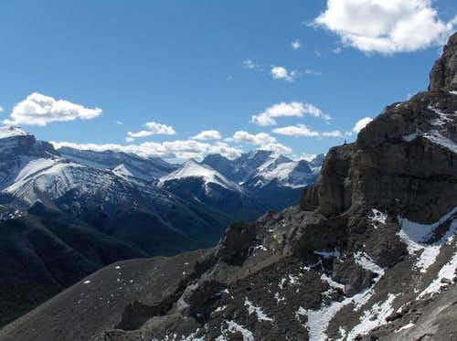 Tombstone Mountain from the...