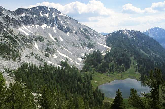 Cheops and Boiling Lake from...