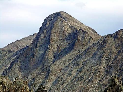 Mount Toll from Lone Eagle