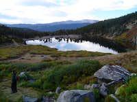 St. Mary's Lake near the...