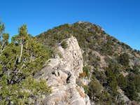 Ridgeline to the summit.