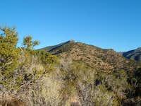 Virgin Peak on the approach