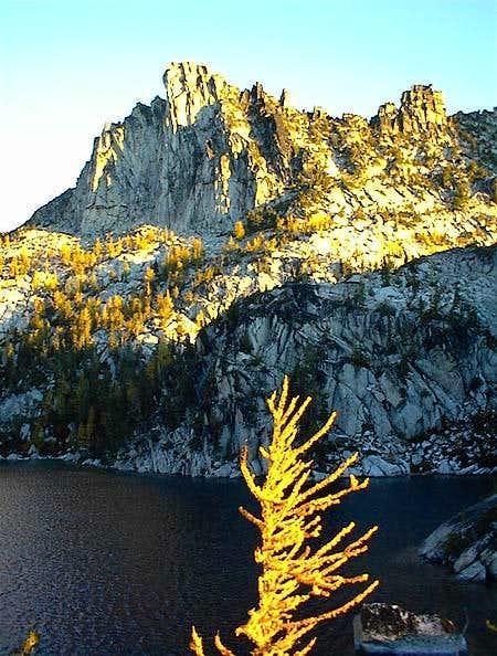Lake Viviane and Prusik Peak...