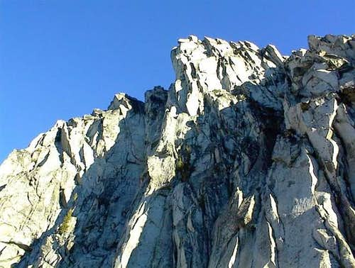 Looking up at the South Face...