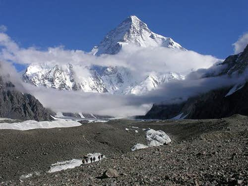 Route from Concordia to K2 BC