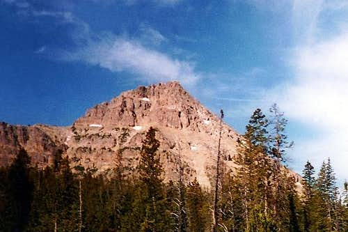 West face of Reids Peak from...