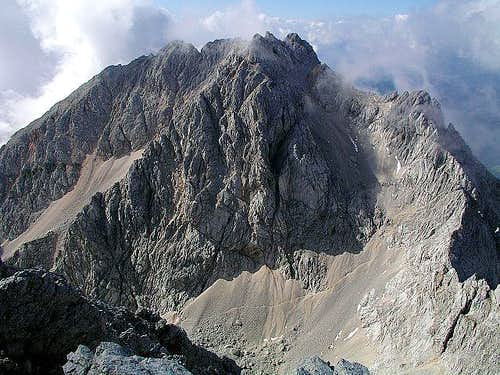 Kocna s Eastern face from the...