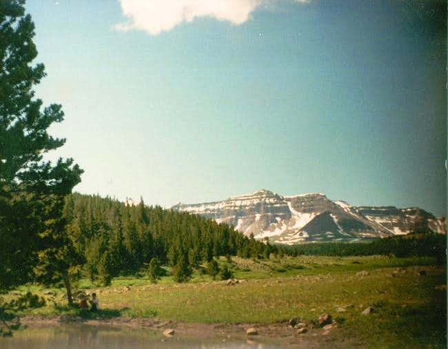Henrys Fork Peak from the...