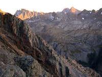 Jagged peak from Vestal....